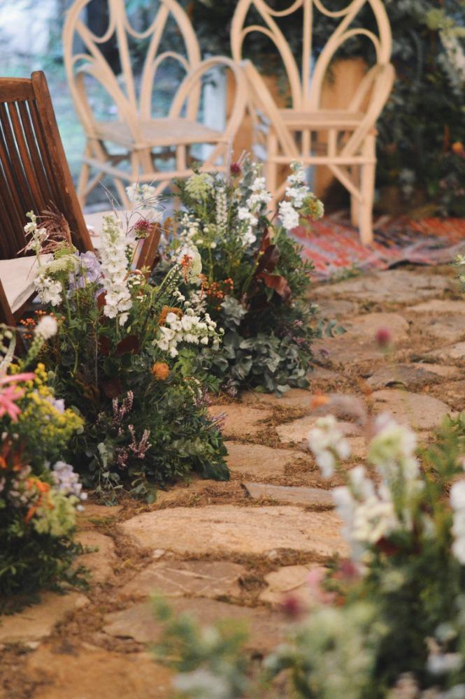 Flores boda Pazo Sergude